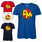 Danger Mouse® DM Icon Ladies T-Shirt - Officially Licensed Top Retro Cartoon Tee