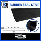 Garage Door Bottom Weather Seal T Style Heavy Duty Replacement Weather Stripping