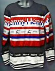Men's Camp Henny Crew Neck Sweater - Black