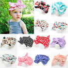 Children Kids Girls Baby Toddler Hair Bow Knot Headband Hair Band Headwear