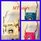 NEW BATTY Boop Women Leather Massenger Crossbody Purse Wallet Shoulder Bag B14Y $42.9 AUD on eBay