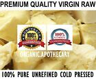 Raw COCOA BUTTER Organic Unrefined Natural 100% Pure Prime Pressed - Choose Size