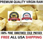 Raw CACAO / COCOA BUTTER Organic Unrefined Natural 100 Pure Prime Cold Pressed