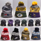 Hot NFL Fans Fashion Hat Winter Sports Cap Outdoor Cycling Warm Wool Knit Hats