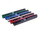 Portable Document Scanner handheld LCD 900 DPI USB 2.0 compatible with JPG / pdf