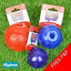 KONG Squeezz Assorted Balls - Durable Squeaky Rubber Fetch Chew Ball Dog Toy