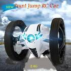 RC Bounce Car Jumping Toy Remote Control Spin Rotate LED LIGHT Kids Gift