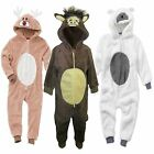 1Onesie Girls Boys 3D Animal Sheep Donkey Christmas Nativity Play Costume Outfit
