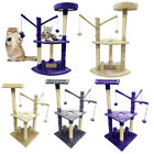 Cat Scratching Tree Post Furniture Kitten Activity Center Play Toys House 90cm