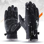 MENS Thermal Ski Gloves Winter Windproof Snowboard Snow Motorcycle Skiing Gloves