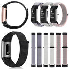 For Fitbit Charge 3 / 3 SE Soft Nylon Sport Loop Replacement Strap Wrist Bands image