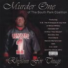 MURDER ONE - Rhythm For Thugs - CD - Explicit Lyrics - **Excellent Condition**