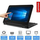 "Lenovo Winbook 100e/300e 11.6"" Touchscreen Laptop Intel Celeron, 4GB, 64GB/128GB"