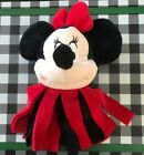 U PICK Fleece Dental Cleaning Dog Toy Minnie Mouse or Red/Green Fabric Ball NEW