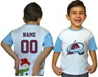 Colorado Avalanche Kids Tee Shirt NHL Personalized Hockey Youth Unisex Jersey $11.95 USD on eBay