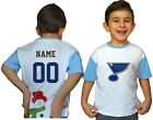 St. Louis Blues Kids Tee Shirt NHL Personalized Hockey Youth Jersey Unisex Gift $11.95 USD on eBay