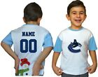 Vancouver Canucks Kids Tee Shirt NHL Personalized Hockey Youth Jersey Unisex Fan $11.95 USD on eBay