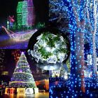 30/50/100/200 LED Solar Power Fairy Lights String Outdoor Party Wedding Xmas UK