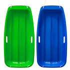 Winter durable Plastic snow Sled in boat shape Snow Sledge for child & adult