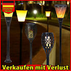 LED Solar Fackel Licht flackernde Feuer Flamme Landschaft Lamp-Garten Patio IP65