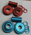 Внешний вид - Eastern Sealed American Bottom Bracket Blue Red 19mm fits Old Mid New School BMX