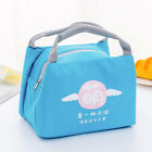 Cartoon Oxford Food Lunch Bag Picnic Storage Outdoor Thermal Insulated Portable