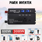 3000W Car Solar Power Inverter DC 12/24V To AC 220V Sine Wave Converter XY