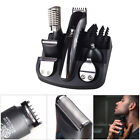 16× Men Hair Cutting Kit Barber Machine Clipper Haircut Trimmer Professional Set for sale  Shipping to Canada