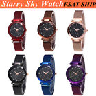 Luxury Women Starry Sky Watch Magnet Strap Buckle Fashion Watch Lover Gift US image