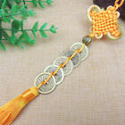 Chinese Knot Tassel Coin Car Pendant/Ornament/Amulet/Hanging Decoration D