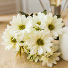 10 Heads Artificial Flower Daisy Branch Fake Floral Home Wedding Decor New
