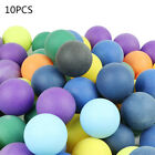10/50/100pcs Lot ABS Frosted Colorful Table Tennis Ping Pong Balls Training Game
