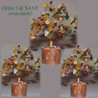 GEM TREE- FENG SHUI TREE CRYSTAL QUARTZ ROCK GOLD with MOLDABLE COLORED BRANCHES