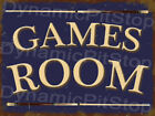 Games Room Tin Sign or Decal, Man Cave, Snooker, Pool, Balls, Table, Accessories $17.4 USD on eBay