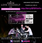 BTS Love Yourself in Seoul Memorabillia Tickets