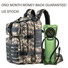 Bug Out Bag Tactical Military Backpack Hydration Pack with 2.5L Water Bladder