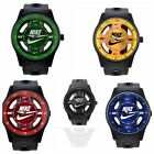 Nike ANALOG WATCH SILICONE BAND New W/out Tags No Box 5 To Choose From Free Ship image