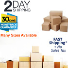 CARDBOARD MOVING BOXES packing Shipping Storage Mail Multiple Sizes Packs