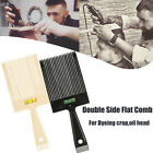 Flat Top Guide Comb with Liquid Bubble Level Flattopper Straight Hair Cut Brush
