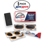 RocRide 8 PC Bike Inner Tube Patch Kit. Bicycle Tire Repair Kit.