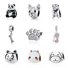 AUTHENTIC PANDORA Charm Bead 100% 925 Sterling Silver Animals Dog Lovely Cat NEW