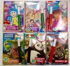 Внешний вид - 1 Kids Coloring Activity Book With Invisible Ink Marker (Choose Character)