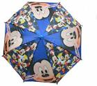 Disney Lightweight Children Kids Rain Umbrella Molded 3D Figure Handle Umbrella