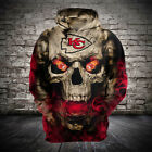 NEW Kansas City Chiefs Hoodies Hooded Pullover Sweatshirts Fan Football Team NFL on eBay