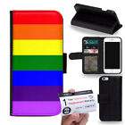 PIN-1 LGBT Pride Phone Wallet Flip Case Cover for Samsung