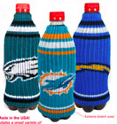 NFL Bottle Koozie Insulator, Can Cooler $9.99 USD on eBay