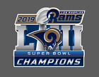 Los Angeles Rams 2019 Super Bowl LIII 53 Champions Decal