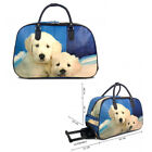 Ladies Labrador Puppy Holdall Trolley Weekend Bag Hand Luggage Travel Handbag