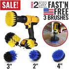 3 Set Drill Brush Power Scrubber Kit Set Cleaner Spin Bathroom Tub Shower Tile