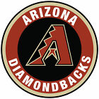 Arizona Diamondbacks Circle Logo Vinyl Decal / Sticker 5 sizes!! on Ebay